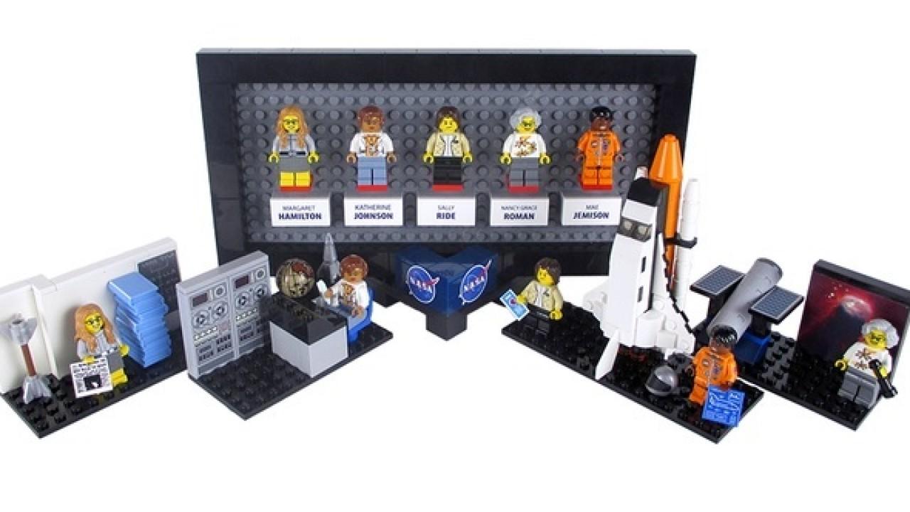 LEGO immortalizes NASA women in brick form