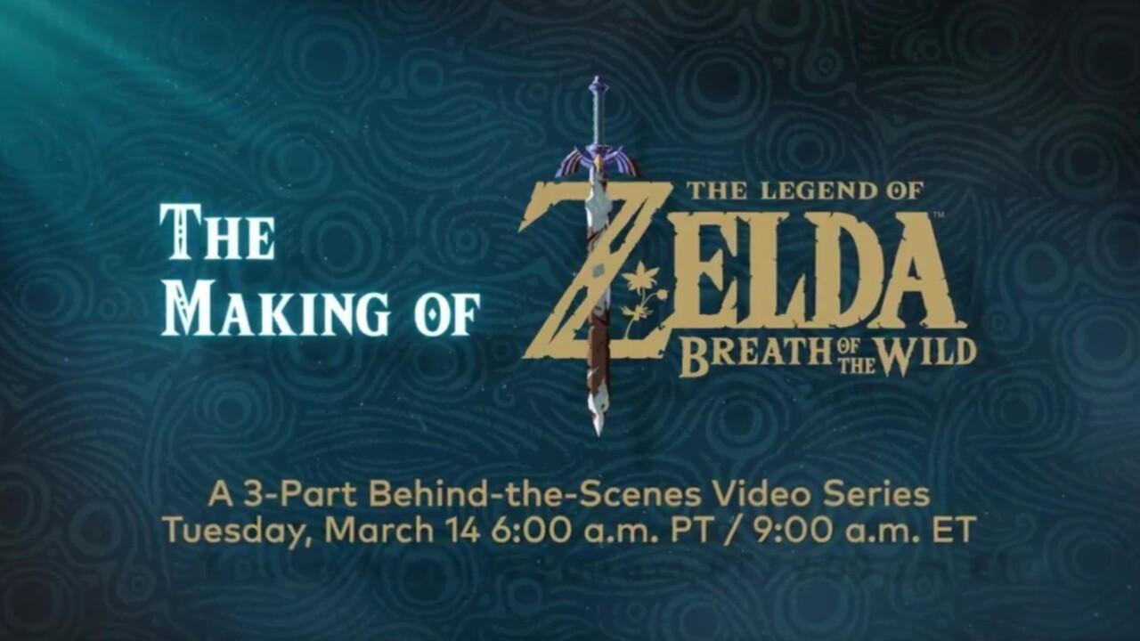 Nintendo is releasing a Zelda: Breath of the Wild documentary tomorrow
