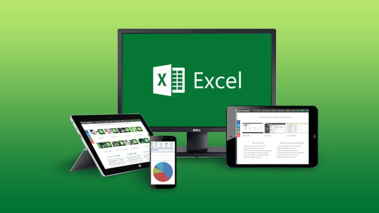 Learn all current and future Microsoft Excel versions online