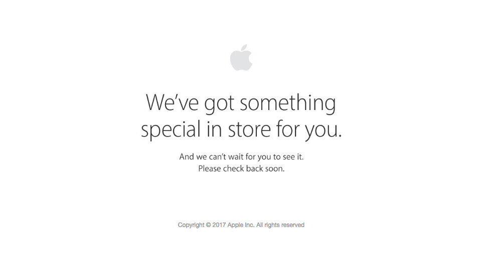 Apple Store goes down as Apple teases 'something special' – possibly new iPad