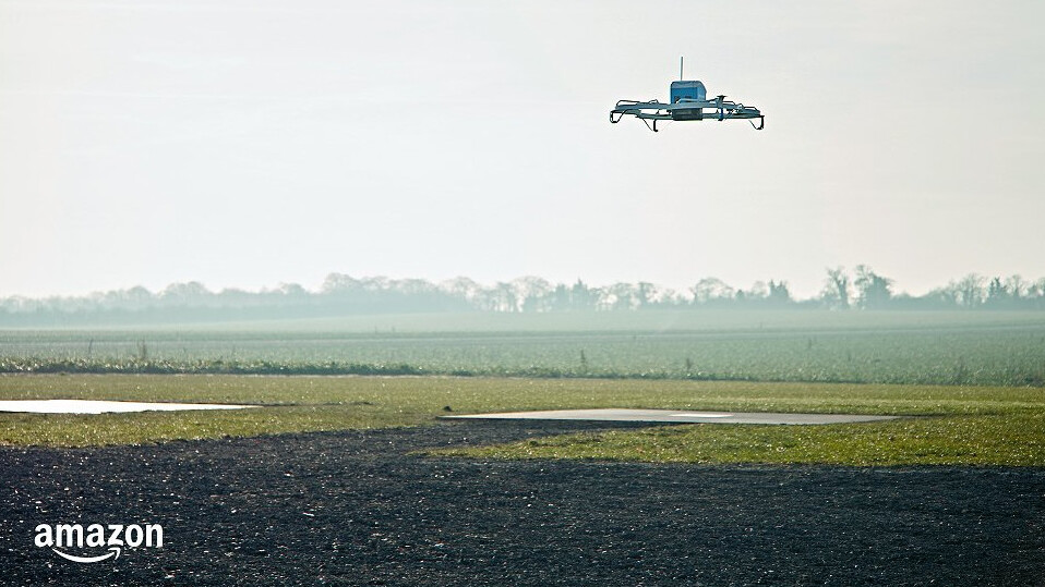 Amazon successfully lands its first drone delivery on US soil in new video