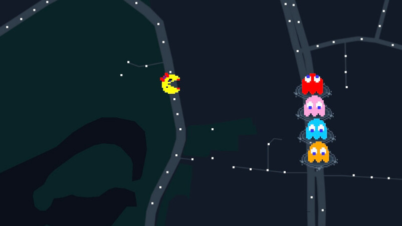 Google Maps now lets you play Ms. Pac-Man for April Fools