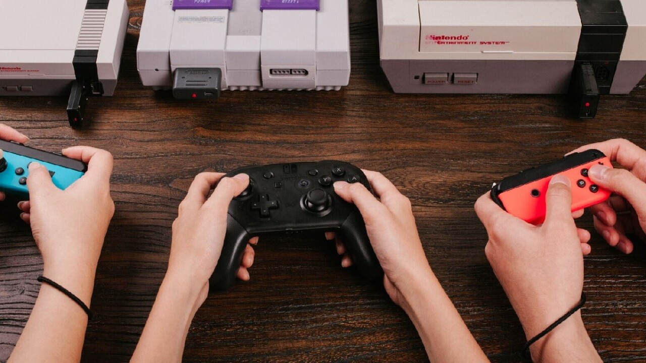 Use your Switch controllers on old Nintendo consoles with this adapter