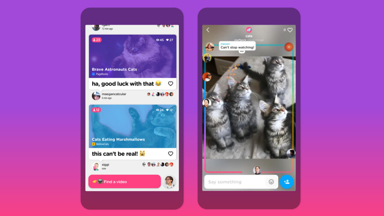 A bunch of Googlers made this iPhone app for watching videos with friends