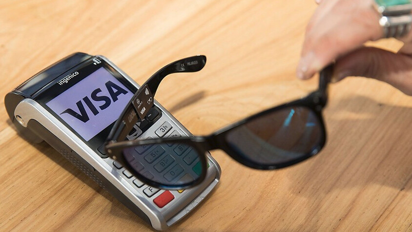 Visa bellyflops into the wearables space with payment-enabled sunglasses