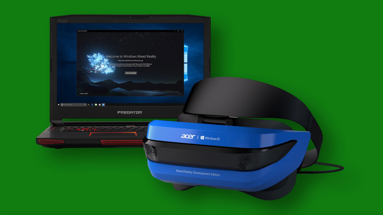 Microsoft will bring mixed reality to Xbox One and Project Scorpio in 2018