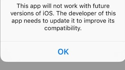 Apple might put an end to almost 200,000 oldschool apps with iOS 11
