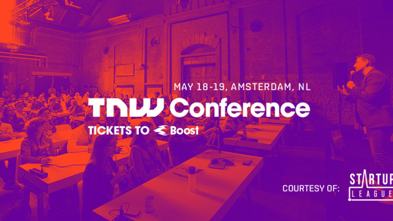 Exhibit at TNW Conference for free – courtesy of Startup League
