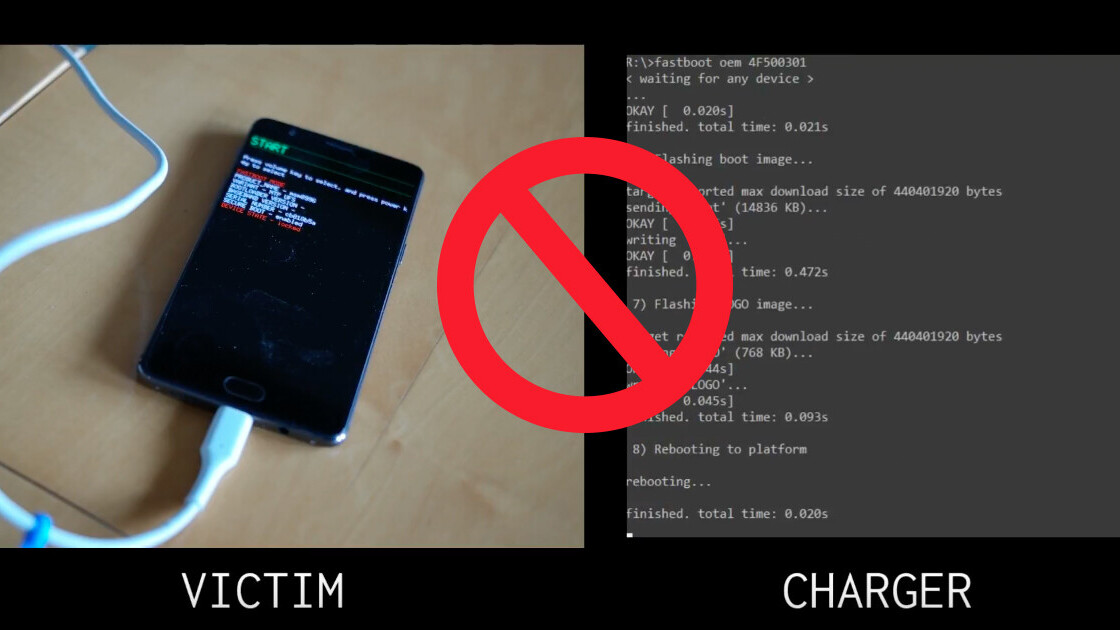 OnePlus 3 bug allowed attackers to hack your phone with malicious chargers