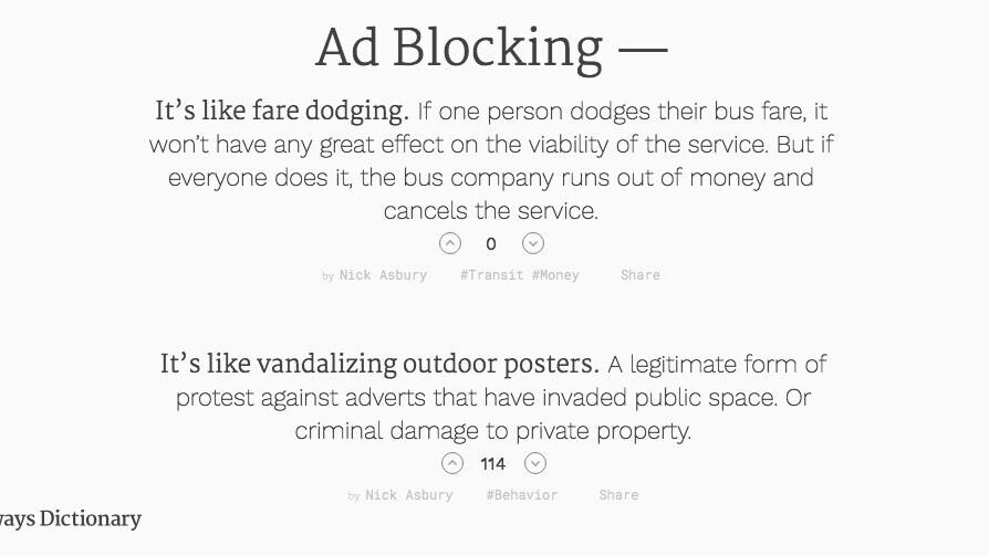 Sideways Dictionary uses hilarious analogies to explain boring tech terms