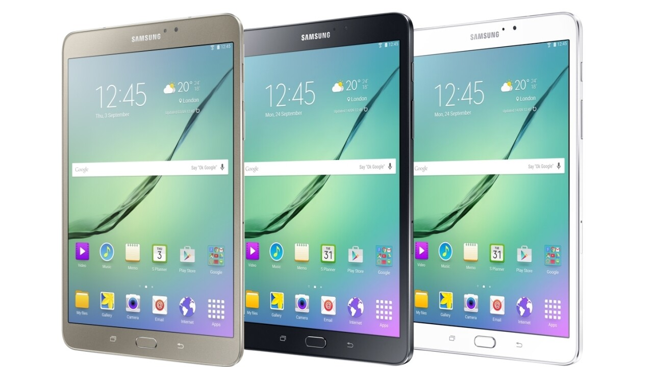 Here's how much the Samsung Galaxy Tab S3 will cost