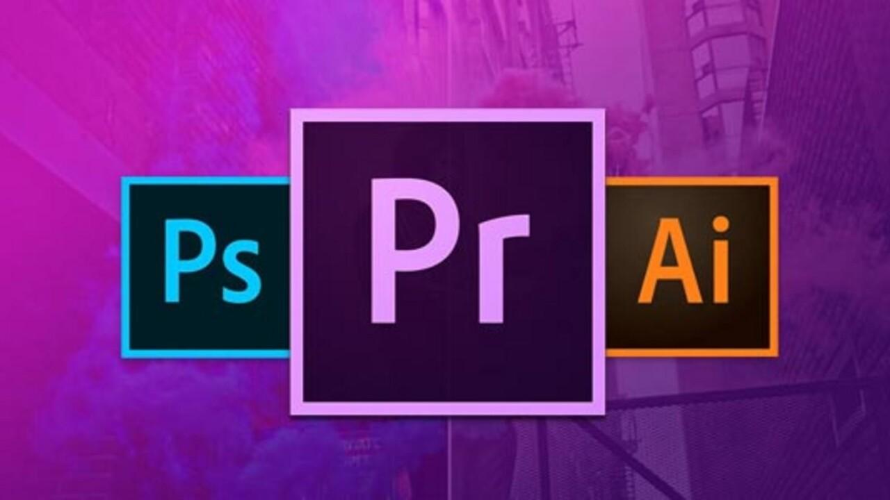 Master Adobe Photoshop, Illustrator and Premiere Pro in one $29 bundle