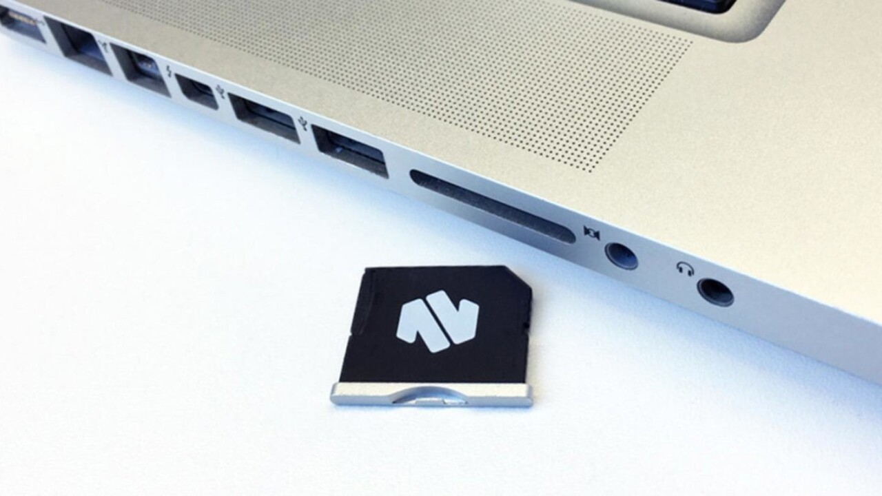 Add MacBook storage without the added bulk with the Nifty MiniDrive — just $29.99