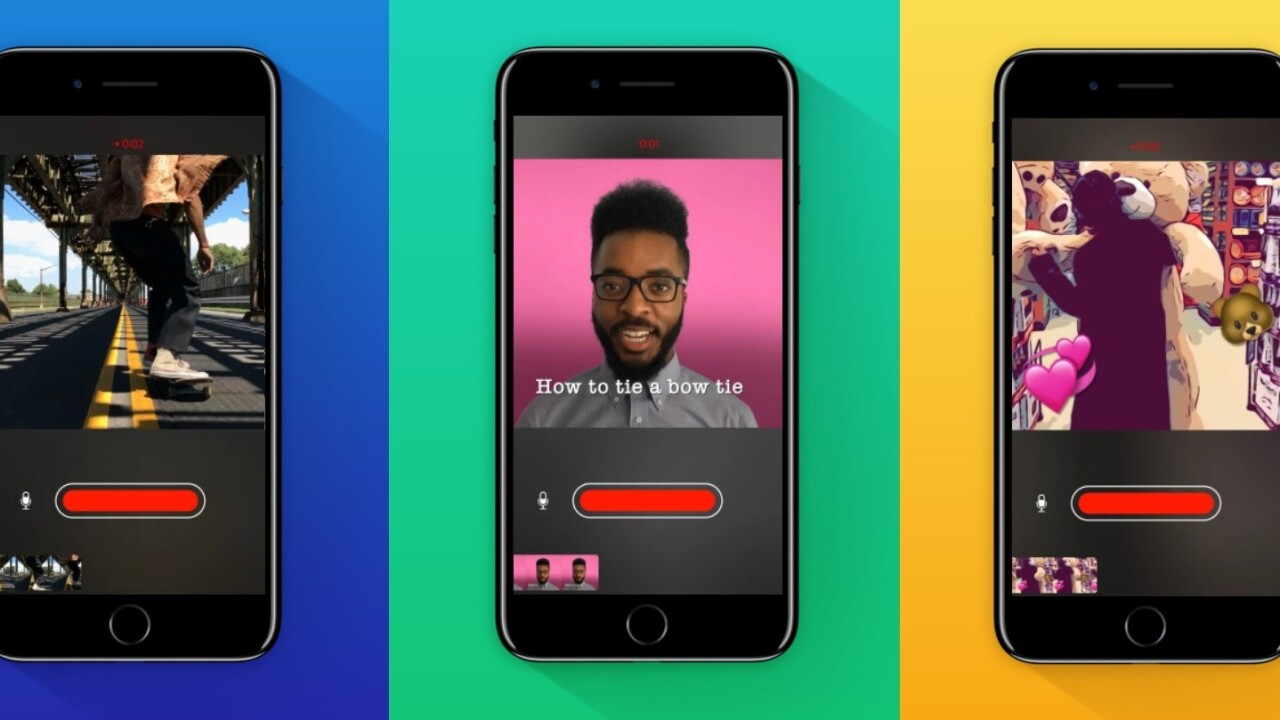Apple's Clips app for video is available now