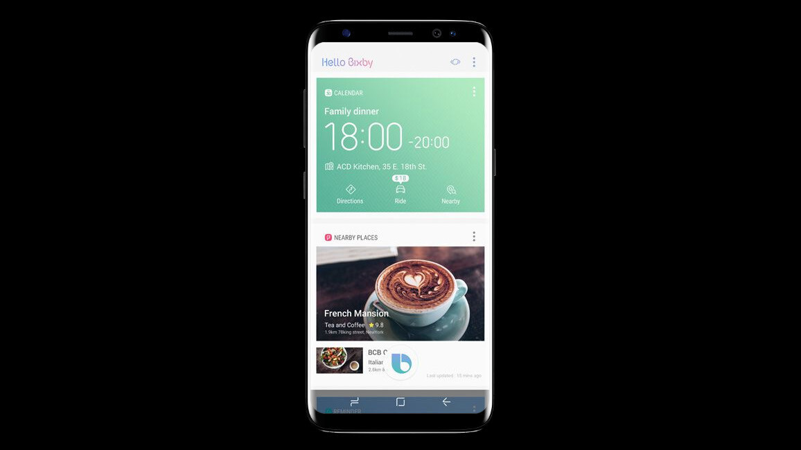 Samsung's Bixby voice assistant is finally available to S8 owners in the US