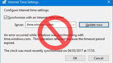 Windows Time Service is sending out wrong times and that's a big problem