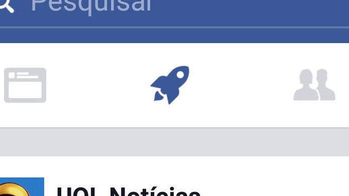Facebook's new rocket button launches a second News Feed
