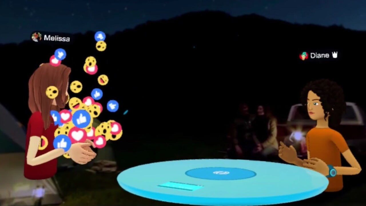 Facebook launches Facebook Spaces, its first real VR app