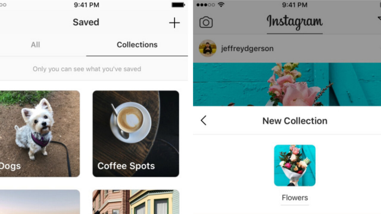 Instagram's new 'collections' make it a lot easier to organize your favorite images