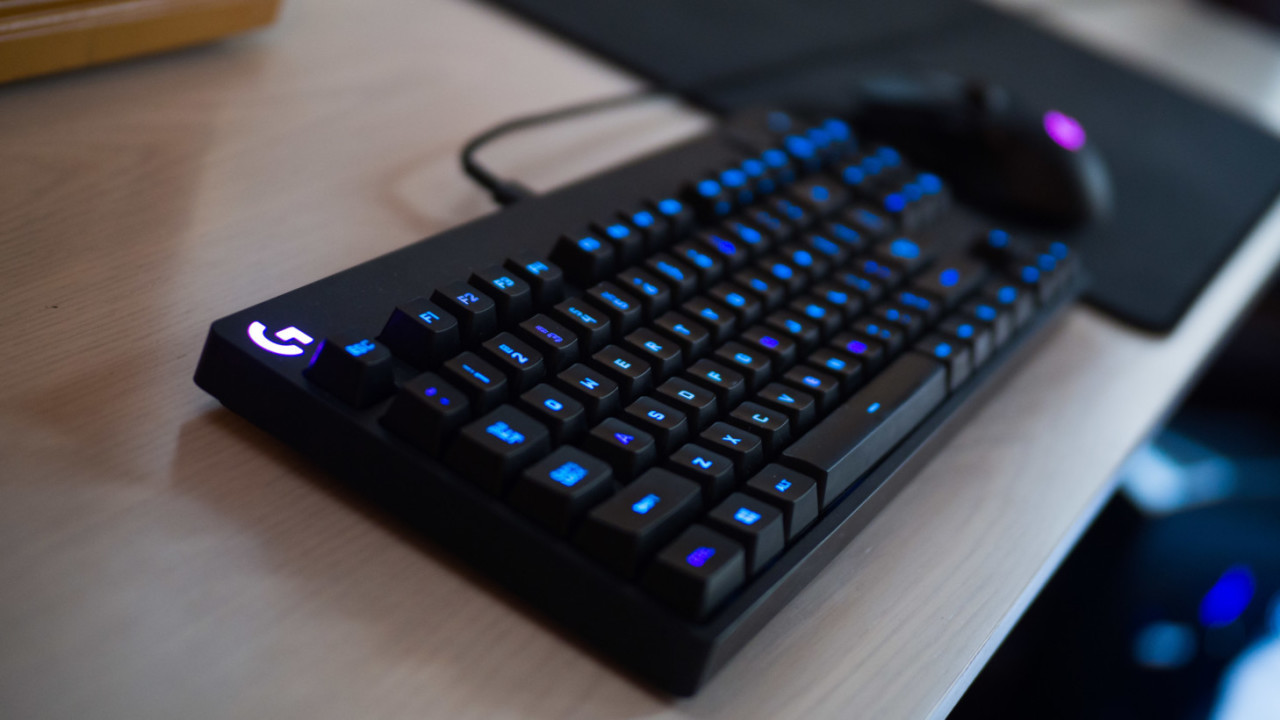 Review: Logitech's G Pro keyboard is overkill of the best kind