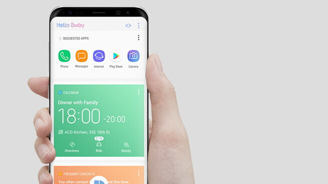 How to use the Bixby button to launch Google Assistant on Galaxy S8