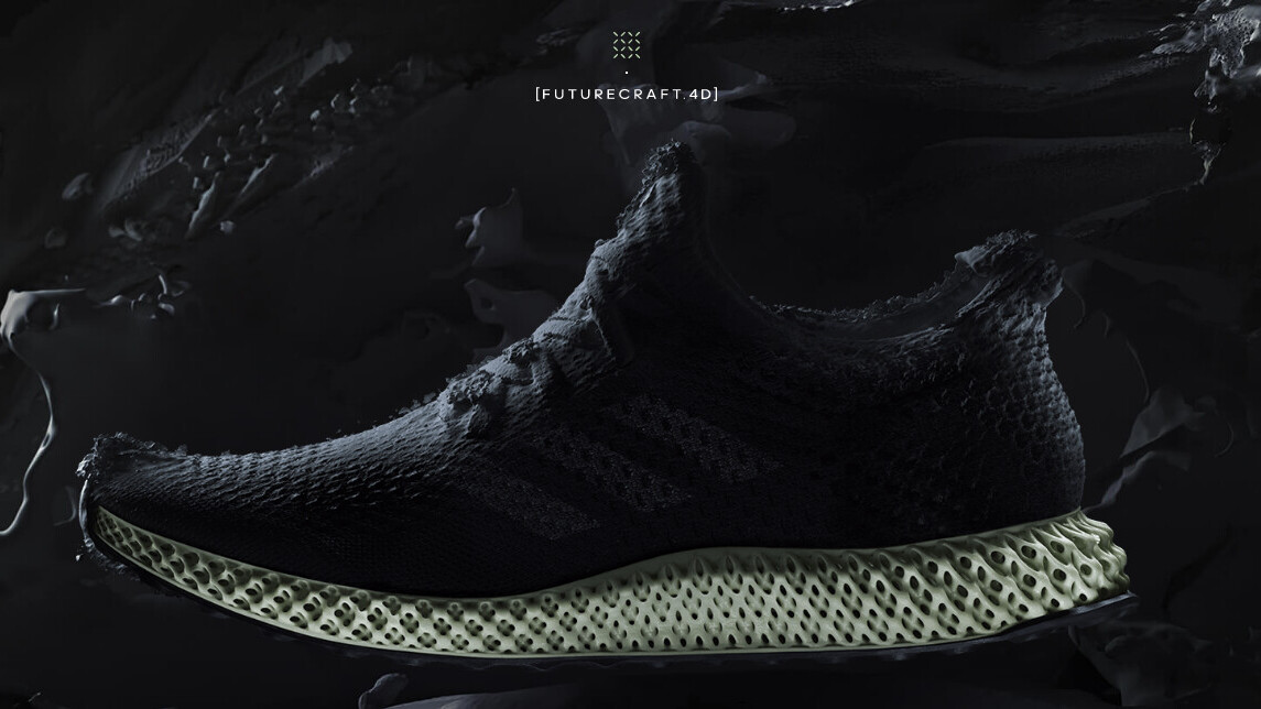 Adidas unveils its gorgeous 3D-printed sneakers, the Futurecraft 4D