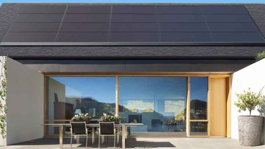 Tesla unveils new Panasonic-built solar panels that will fit almost any roof