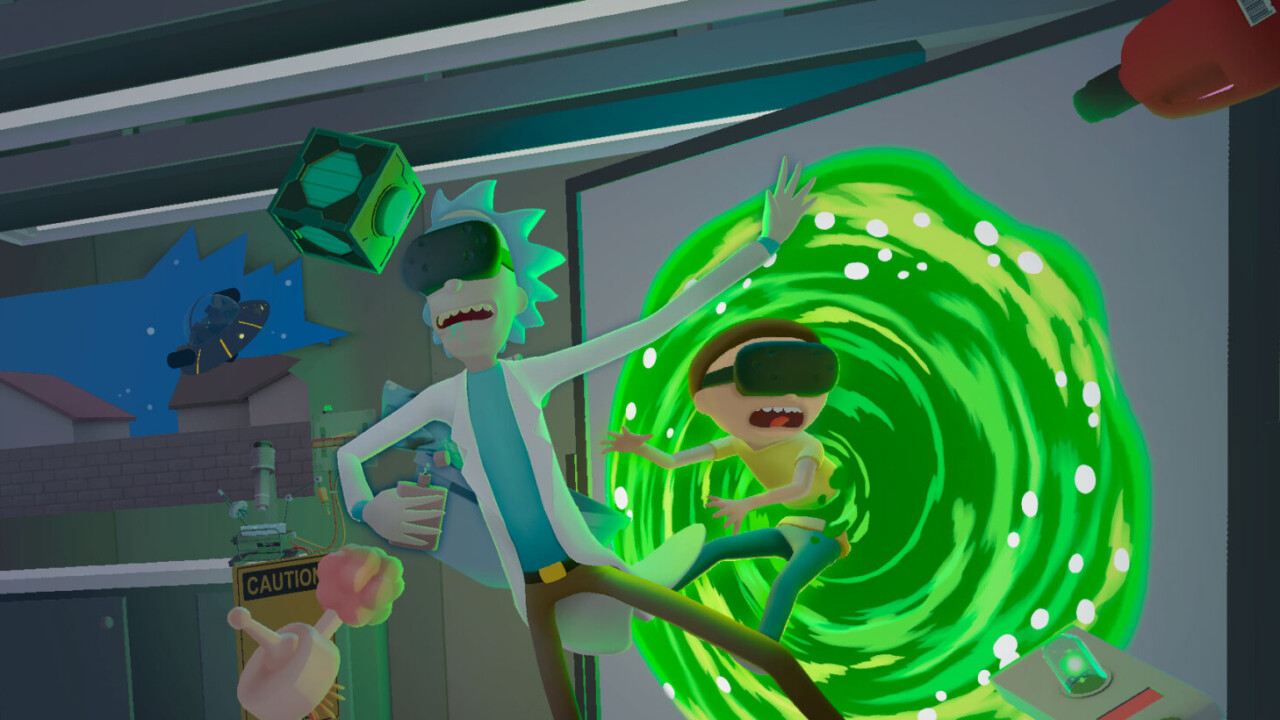 Rick and Morty goes VR to debut 'Virtual Rick-ality' game on 4/20
