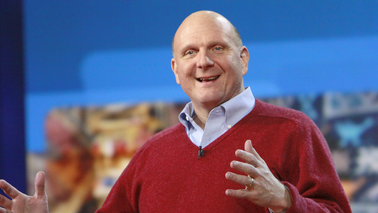 Steve Ballmer's $10m project will surface everything you wanted to know about government spending