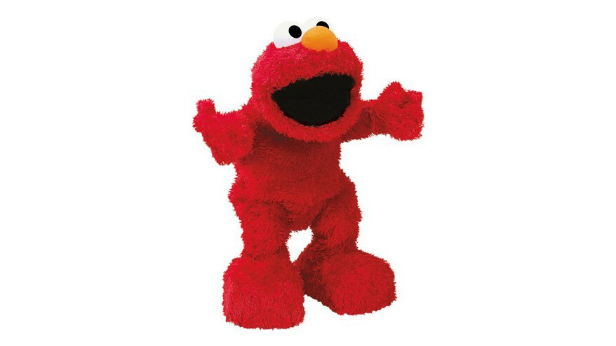 Remove the fur from a Tickle Me Elmo and you get something truly horrific