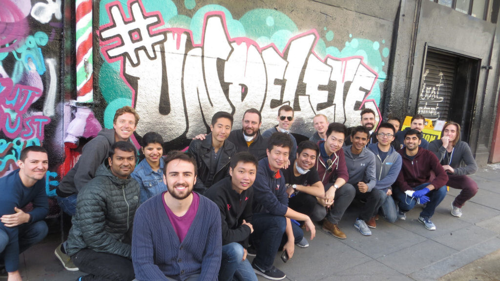 Uber Employees created an #Undelete mural, because of course they did