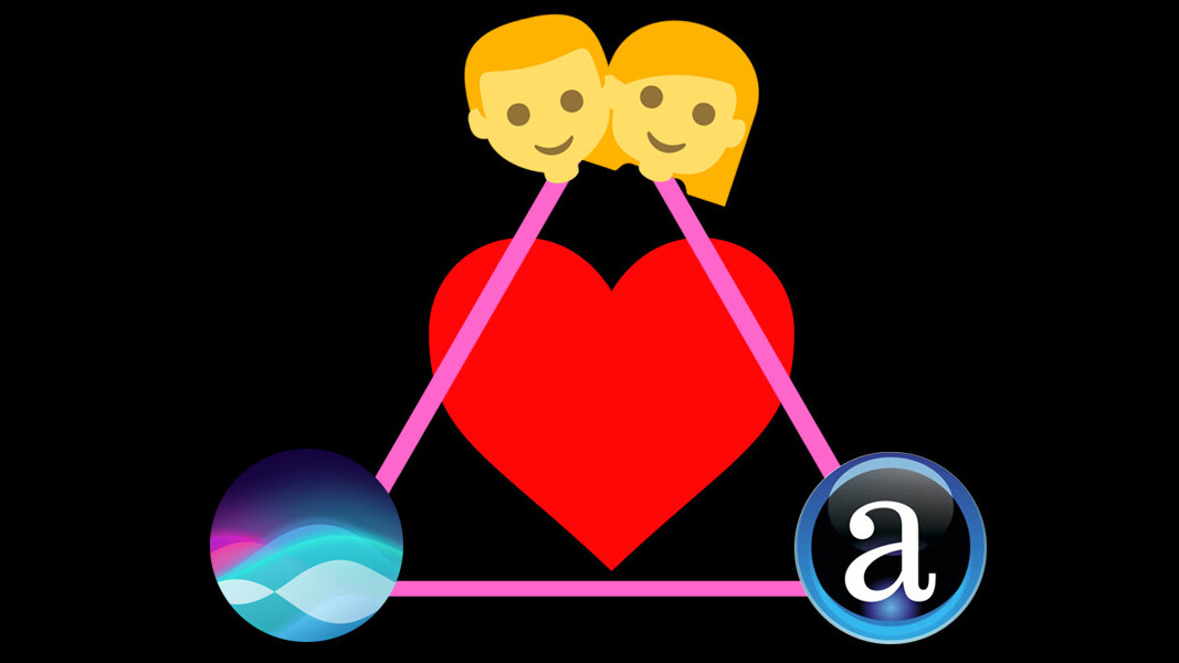 People are daydreaming about passionate romances with Siri and Alexa