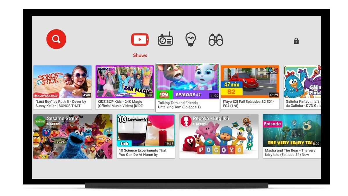 Google brings YouTube Kids app to smart TVs