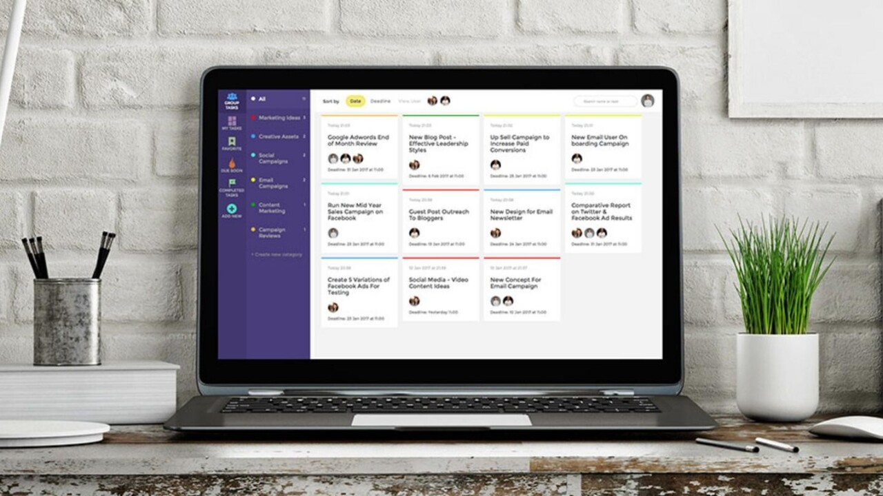 Track every project and team member easily with Task Pigeon – for under $60