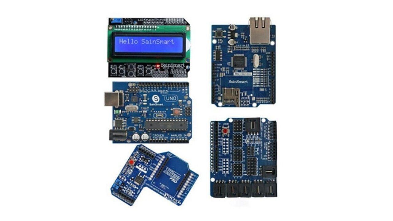 Build electronics projects great and small with the SainSmart UNO for Arduino, for under $55