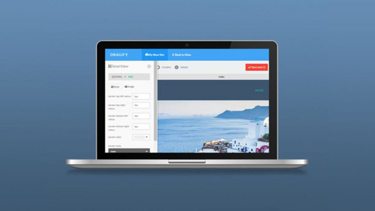 Dragify helps you drag-and-drop your way to awesome websites — for under $25