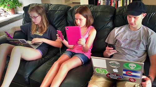 Stop dragging kids away from their screens