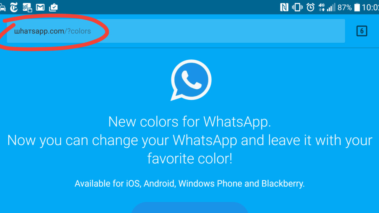 Fake WhatsApp.com URL gets users to install adware