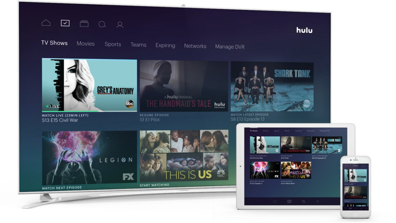 Hulu now serves up 50 Live TV channels for $40 a month
