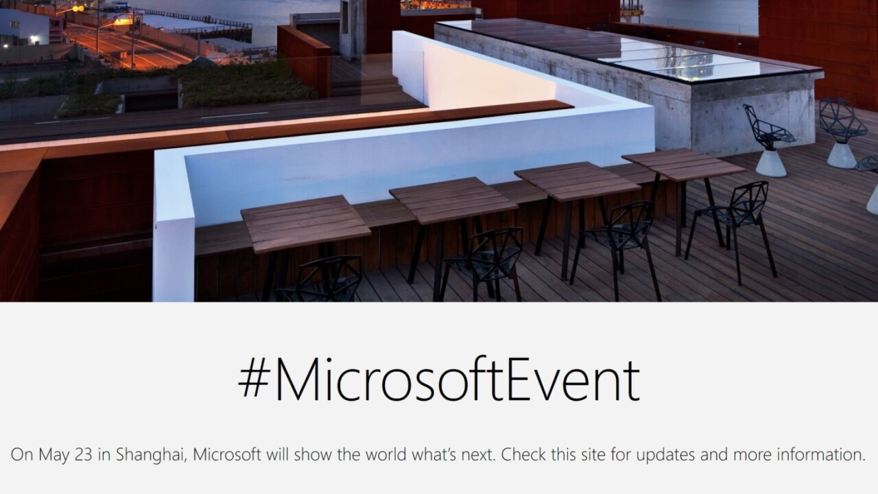 Microsoft teases yet another Surface announcement on May 23