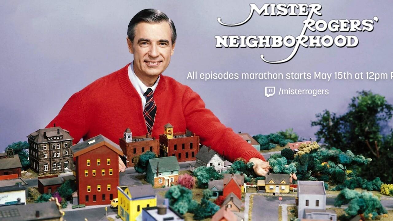 Twitch will marathon 886 episodes of Mister Rogers
