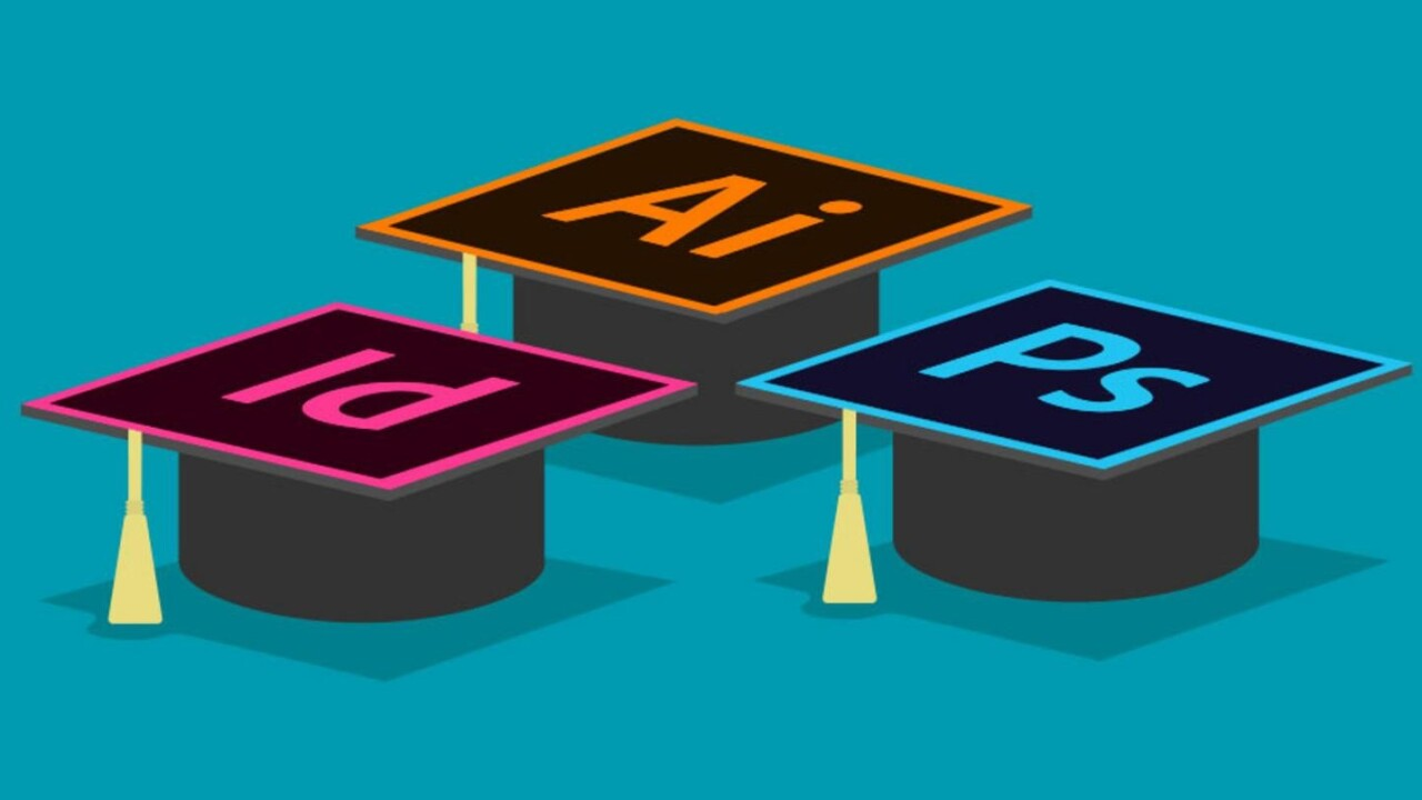 Get certified in Adobe's powerful graphic art programs — for less than $40