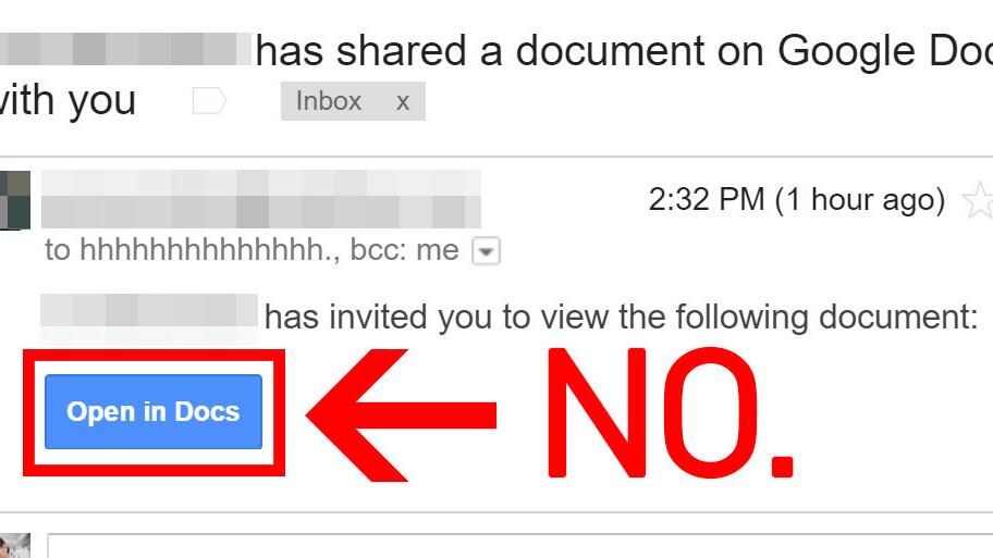 Massive Google Docs phishing attack swept the internet today [Updated]