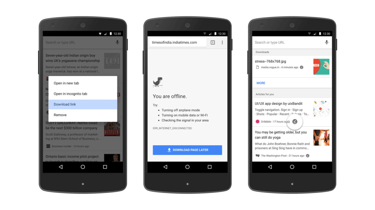 Google Chrome's new offline features might make Pocket redundant