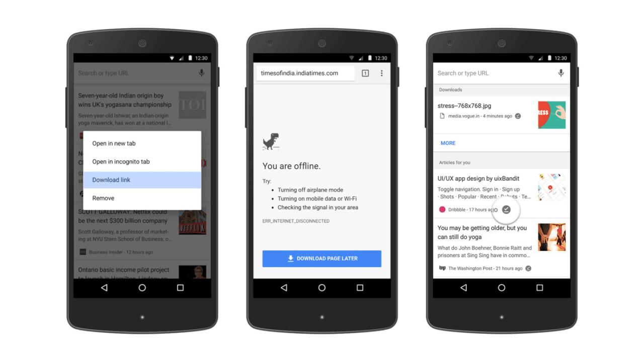 Google Chrome's new offline features might make Pocket redundant