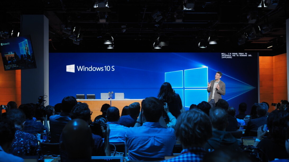 Microsoft unveils Windows 10 S, a more powerful competitor to Chrome OS