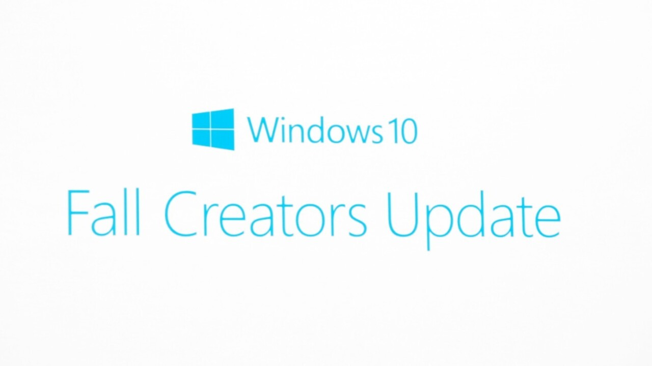 Microsoft announces the Windows 10 'Fall Creators Update'