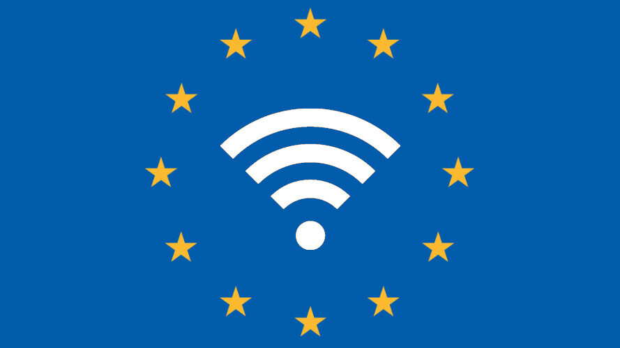 Europe will grace over 8000 towns and villages with free public Wi-Fi