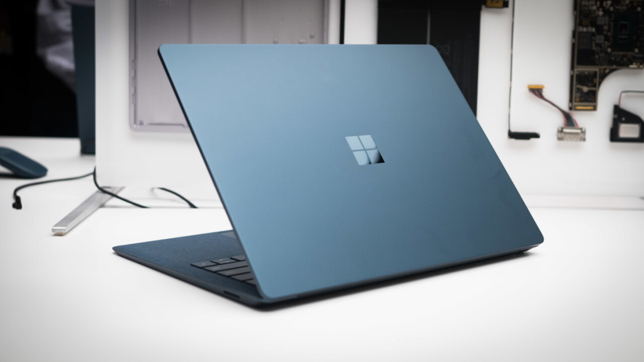 The Surface Laptop's i7 configurations now come in pretty colors too