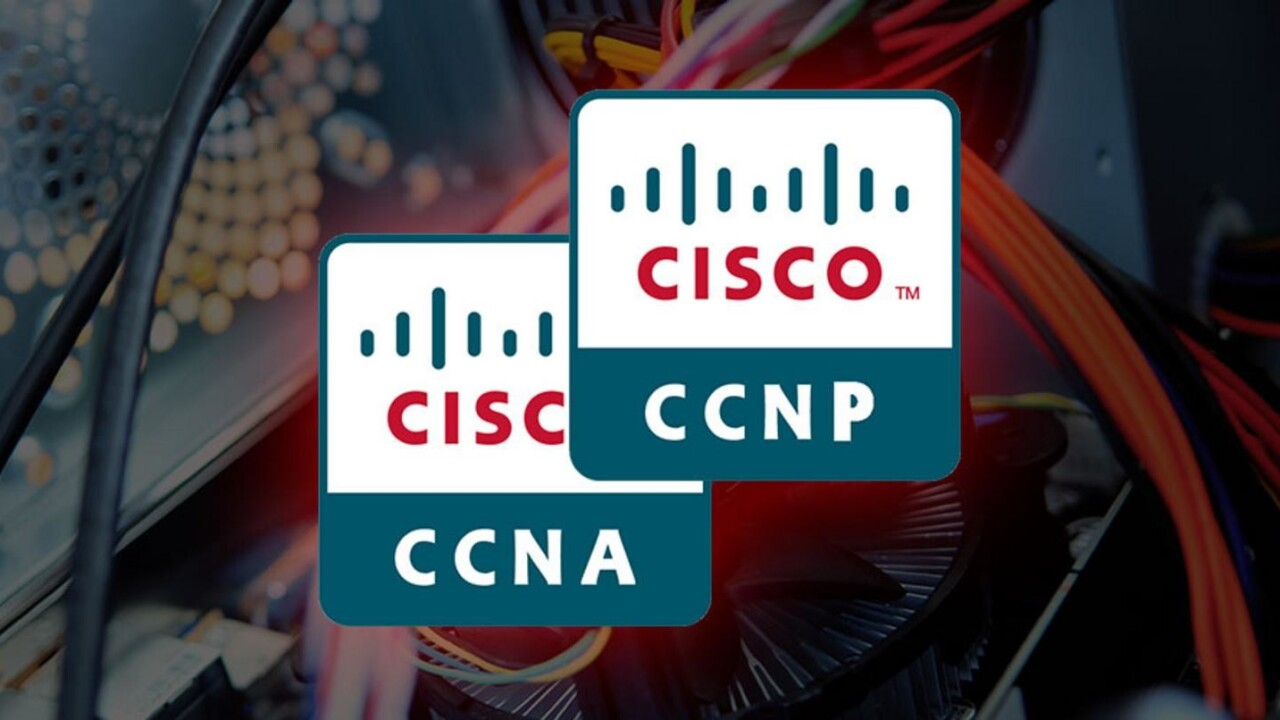 Add Cisco network mastery to your resume with two certifications for only $55